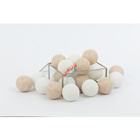 Cotton illuminating ICE marbles Cotton Balls - gold, cotton love